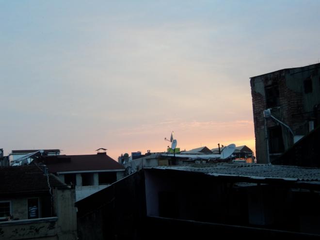 Les toits d'Istanbul