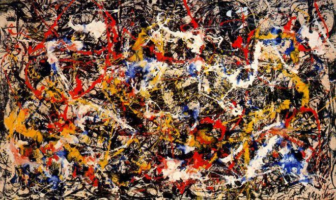 Jackson Pollock, Convergence.